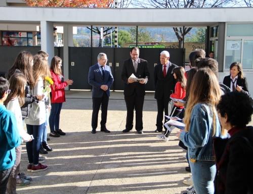 Visita do Secretário de Estado à Escola Básica e Secundária Oliveira Júnior