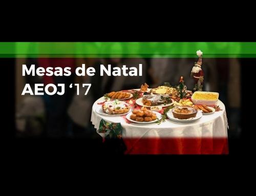 Concurso Mesas de Natal 2017
