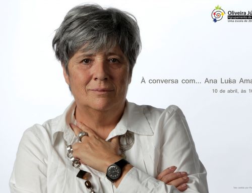 À conversa com… Ana Luísa Amaral: 10 de abril