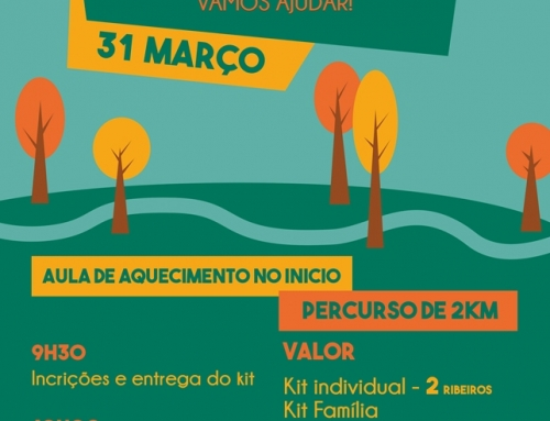 Caminhada solidária: 31 de março