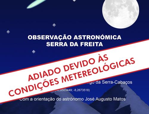 Observação astronómica: clube ciência viva na Escola – ADIADO